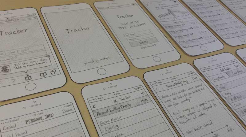 Energy Tracker UI/UX Design — The Verdigris Way - Daniela